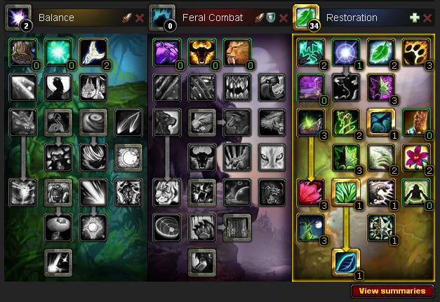 Druid Resto Build